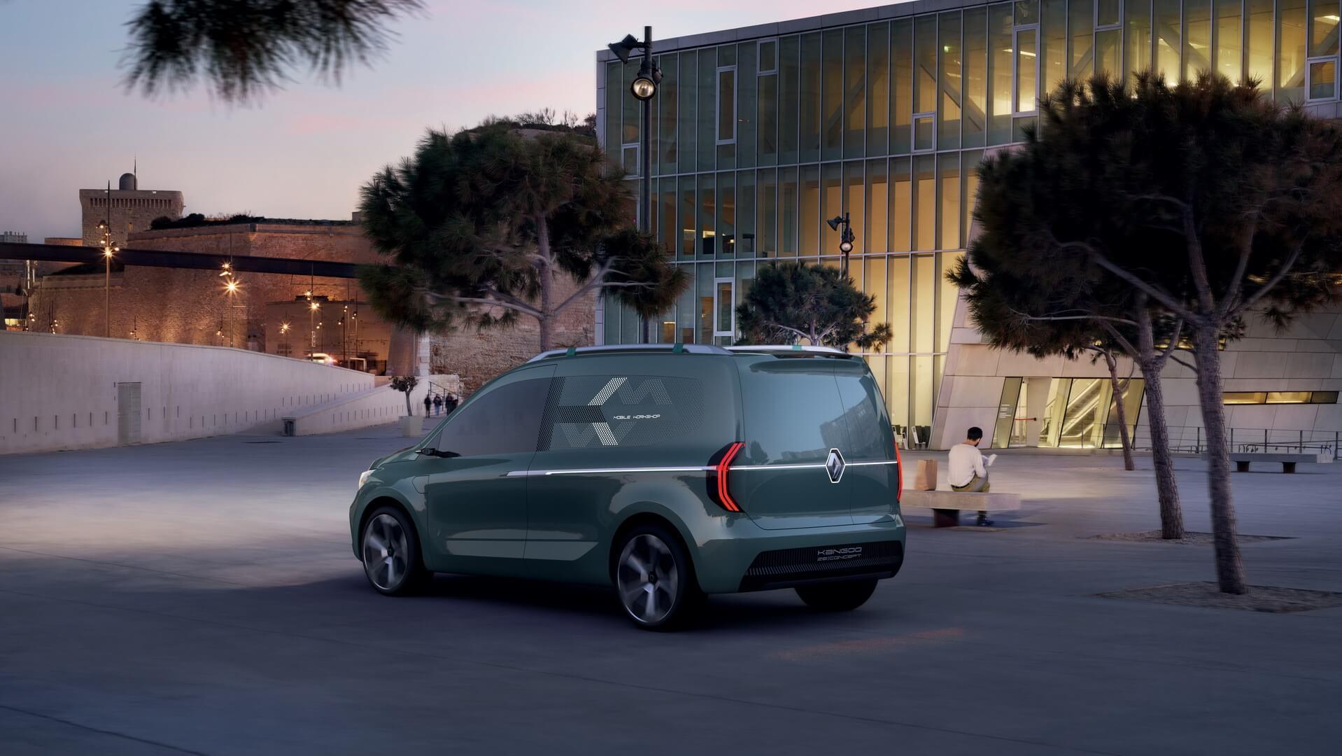 Renault Kangoo Z.E. 2020 - фото 3