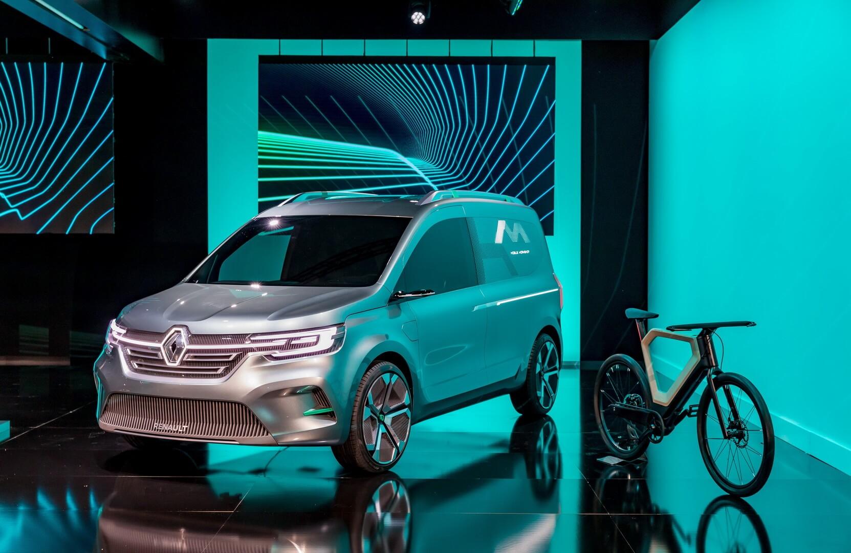 Концепт Renault Kangoo Z.E.: стильный дизайн и камеры вместо зеркал