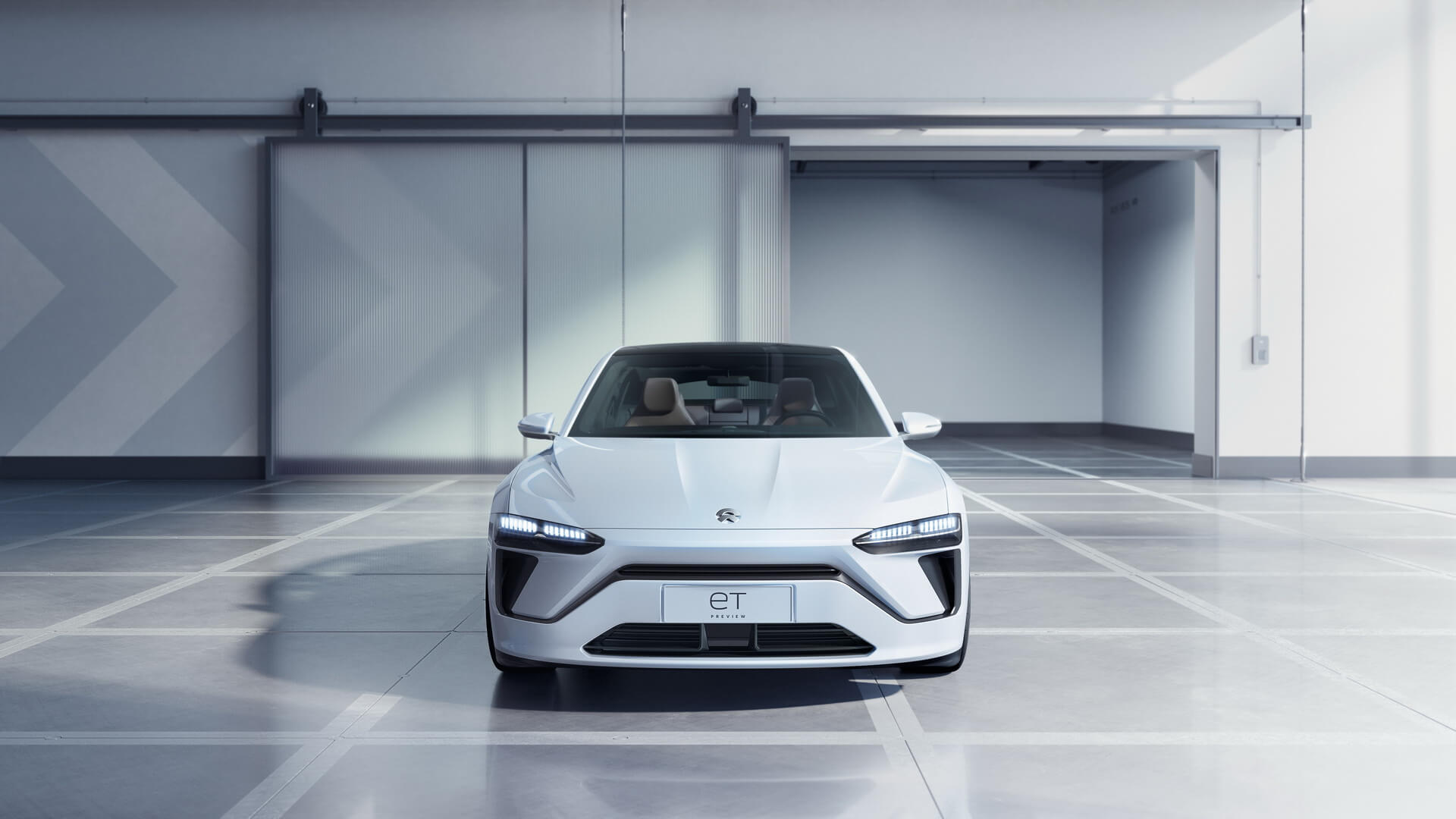 NIO представила новый электрический седан ET Preview