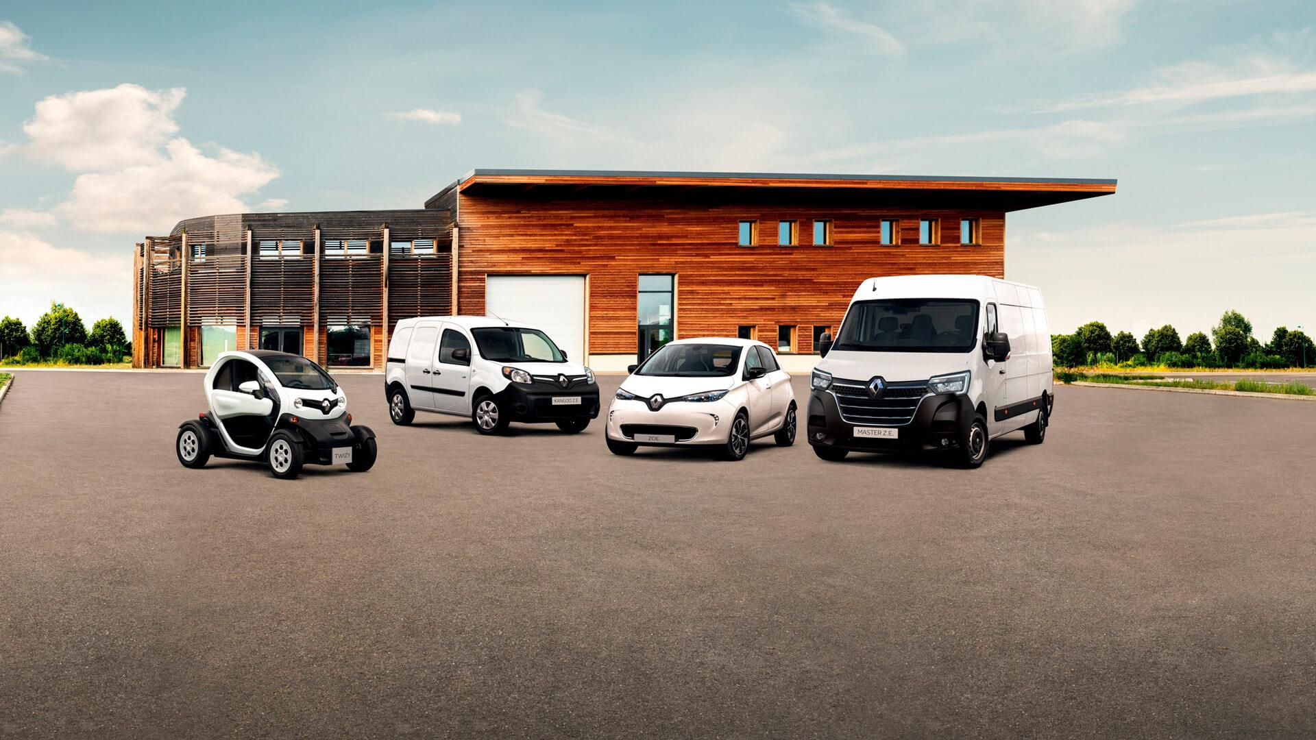 Модельный ряд электромобилей Renault