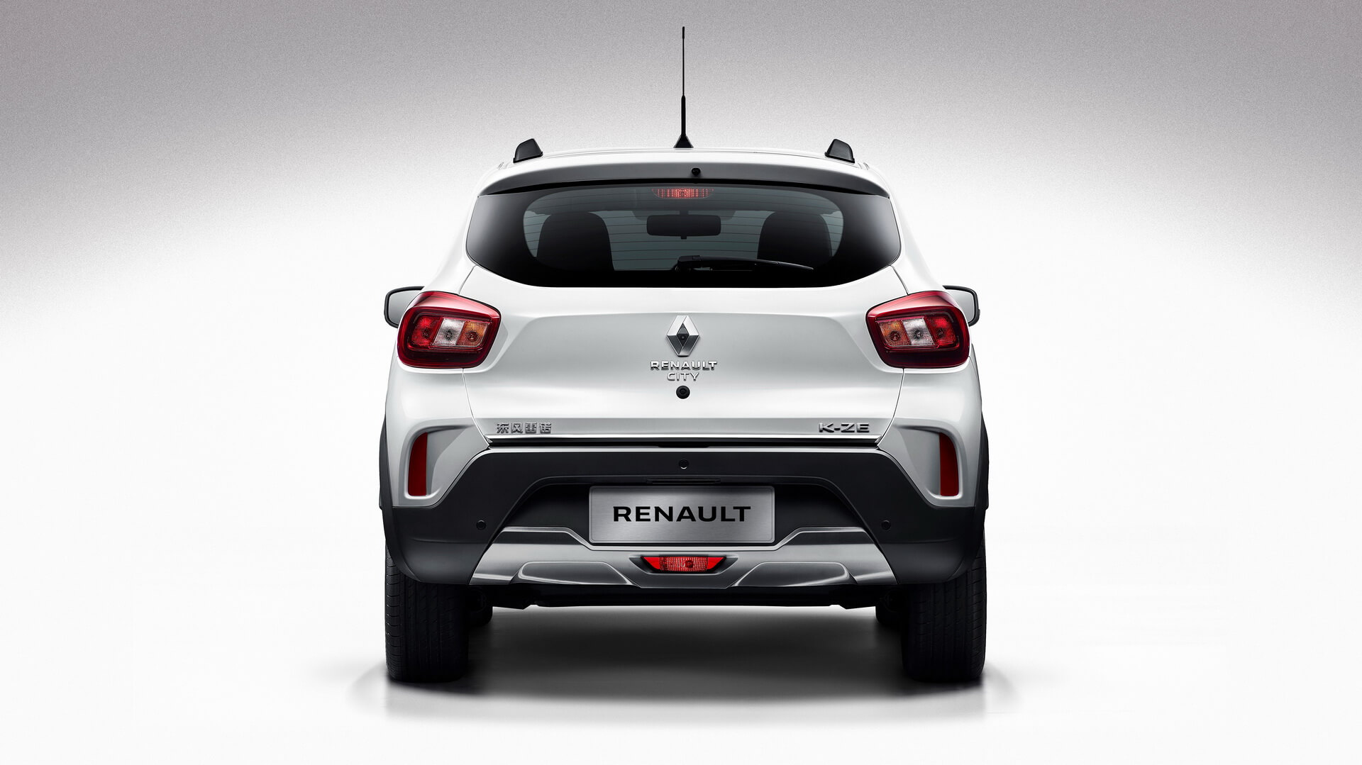 Renault City K-ZE - вид сзади
