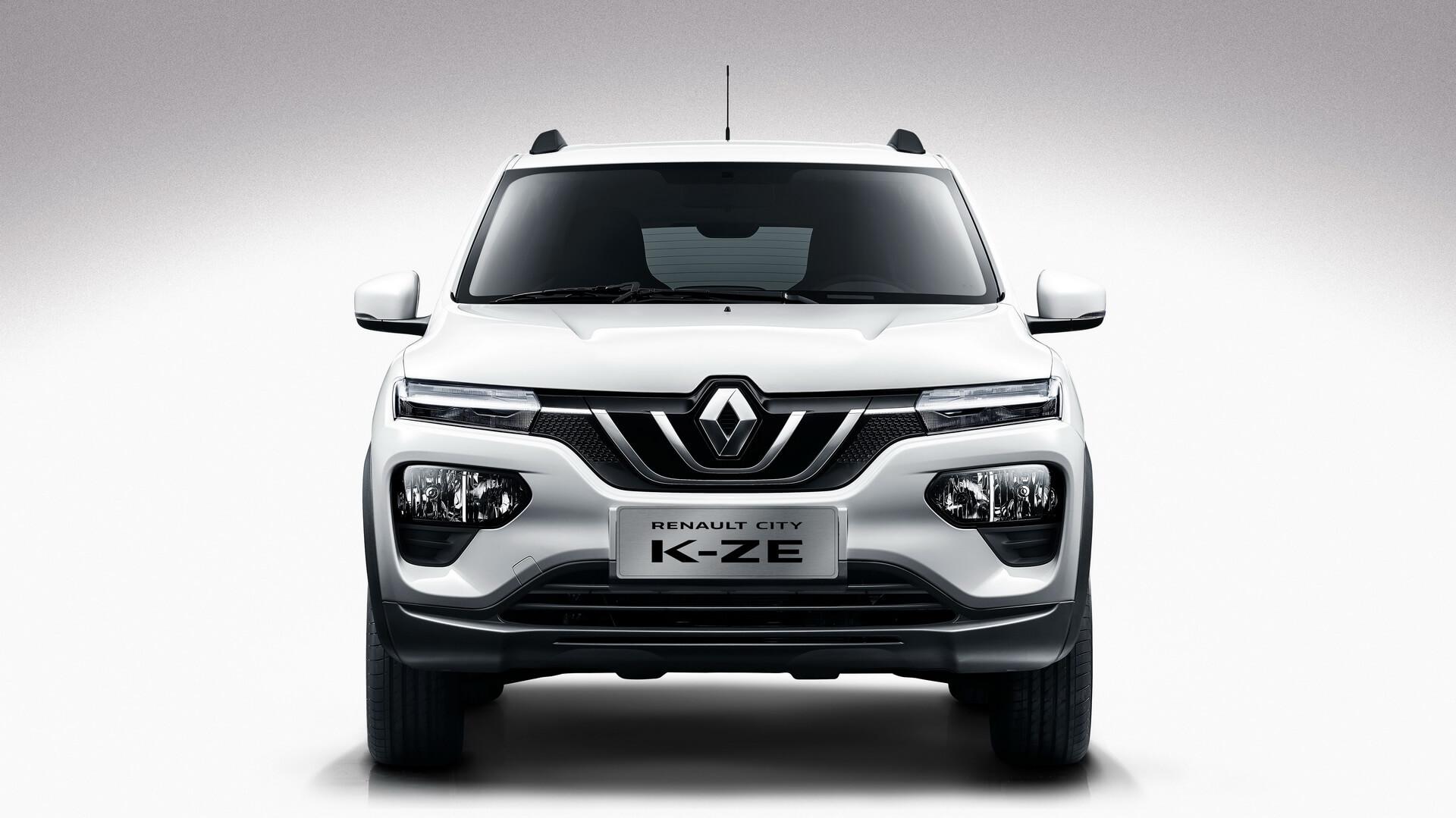 Renault City K-ZE - вид спереди