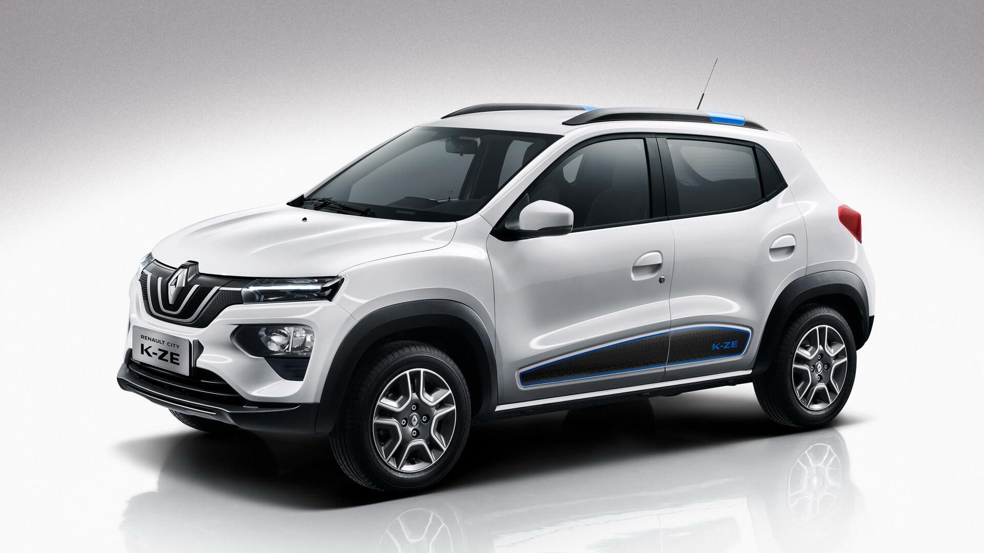 В Шанхае состоялась всемирная премьера Renault City K-ZE