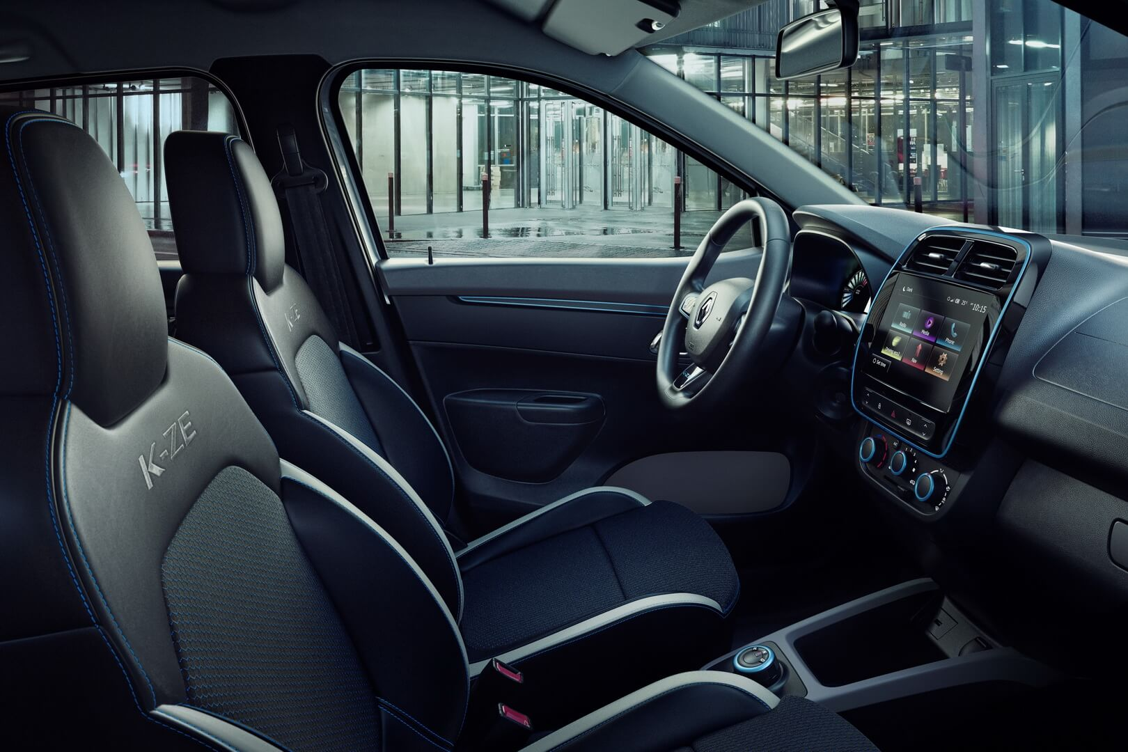 Интерьер Renault City K-ZE - фото 2
