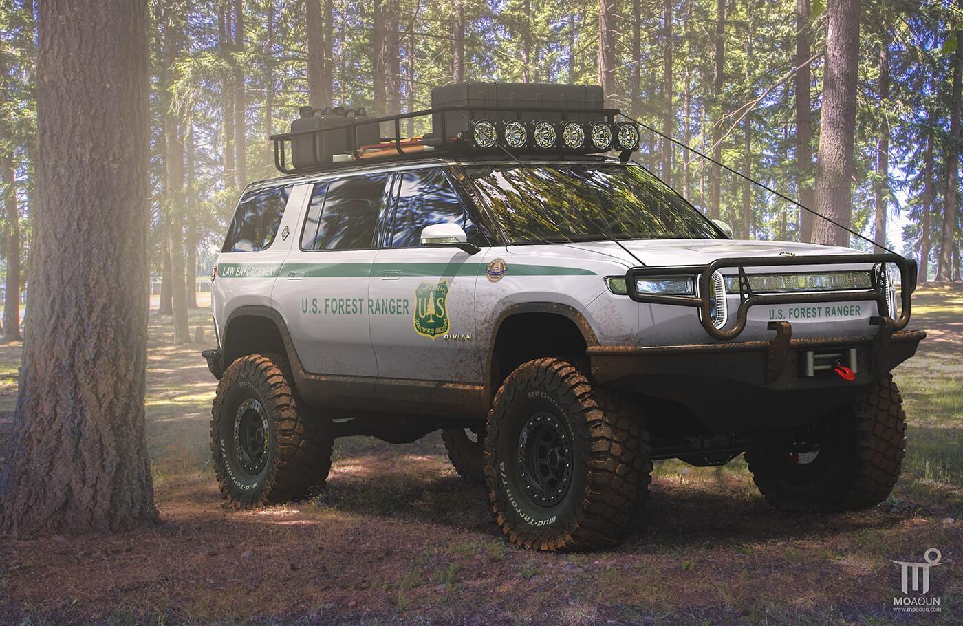 Rivian R1S Forest Ranger Edition