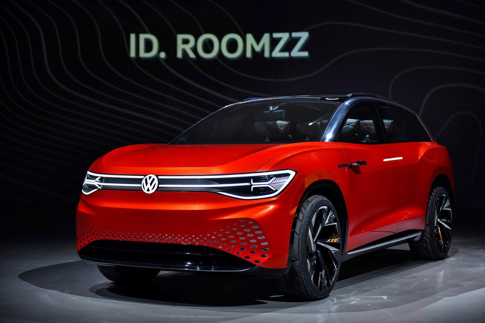 Электрический внедорожник Volkswagen ID. ROOMZZ