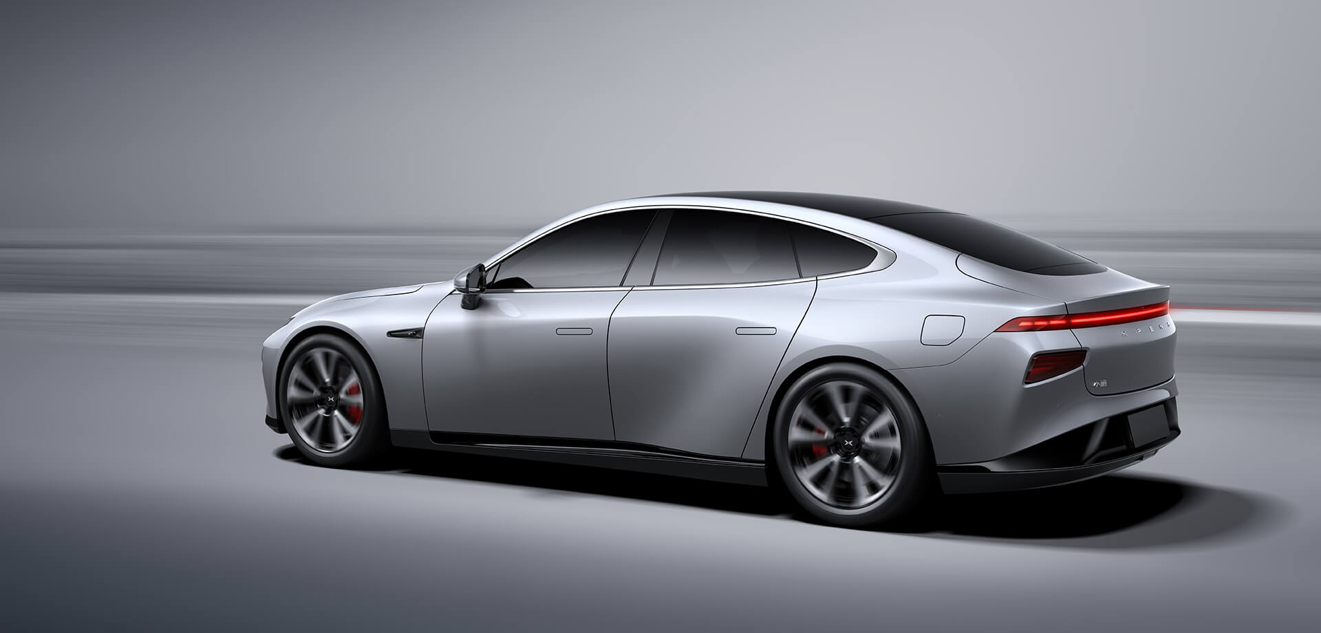 Xpeng представил вШанхае электромобиль P7