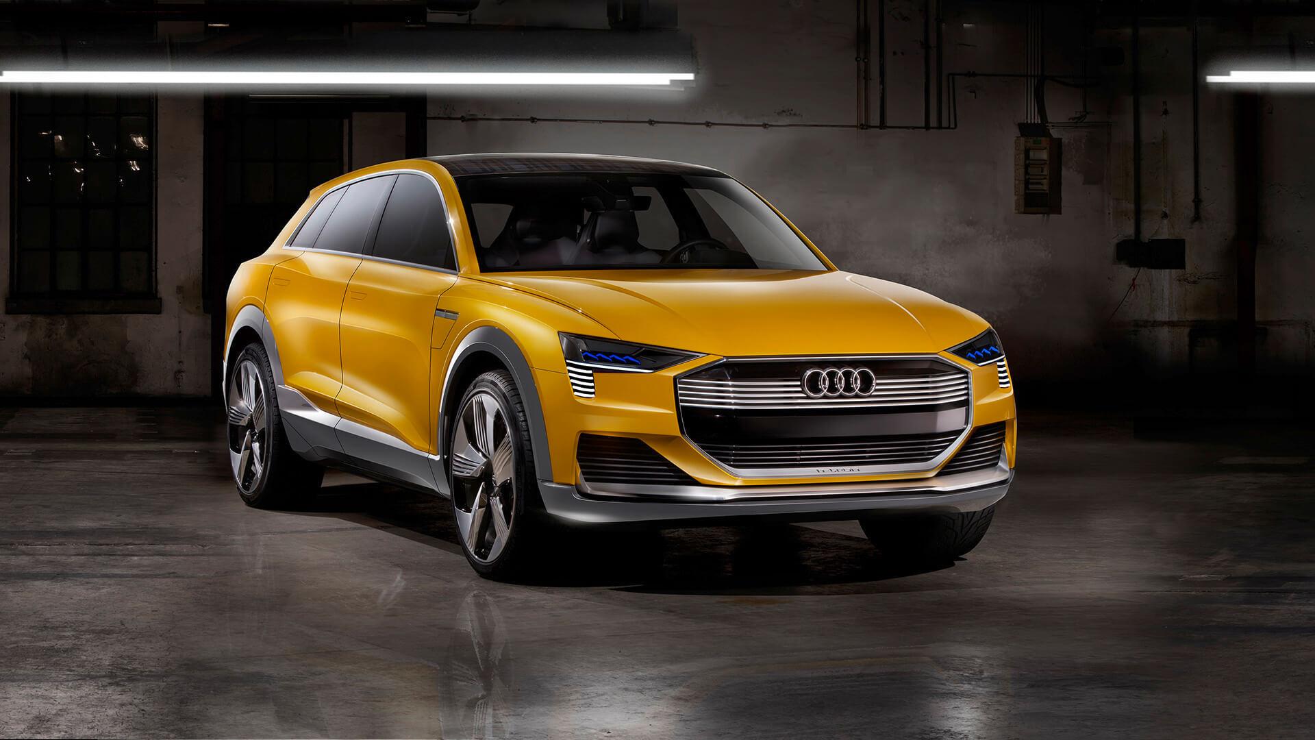 Концепт Audi h-tron quattro (2016)