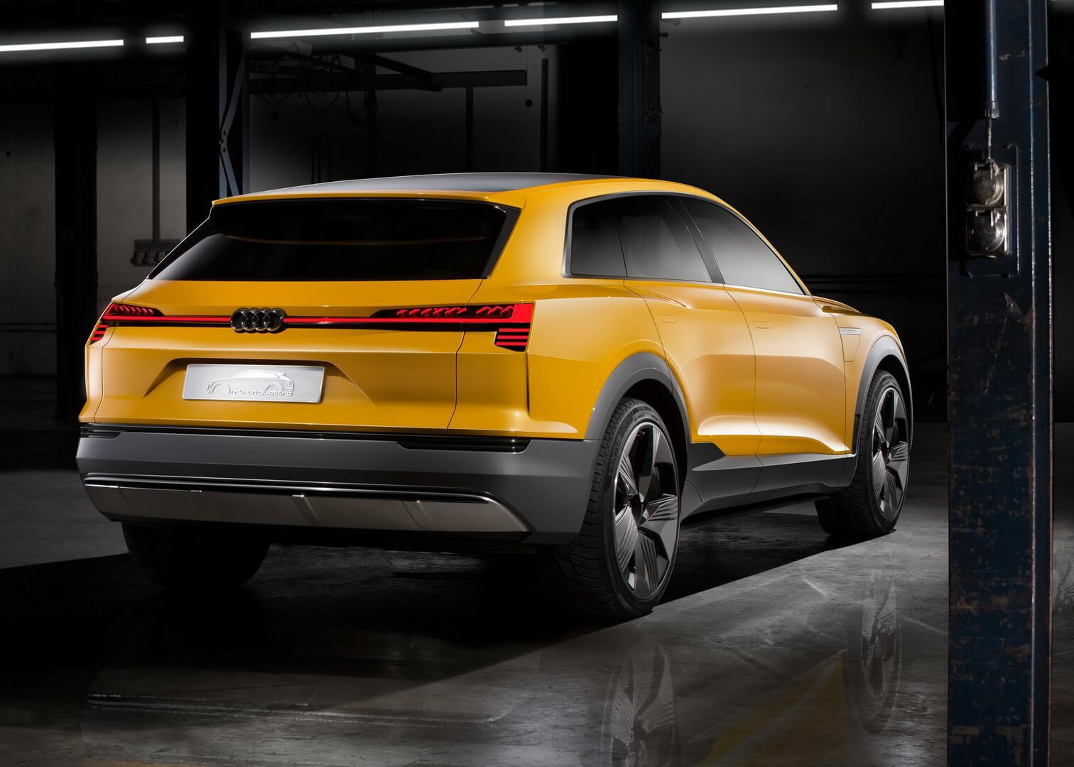 Audi h-tron quattro FCEV