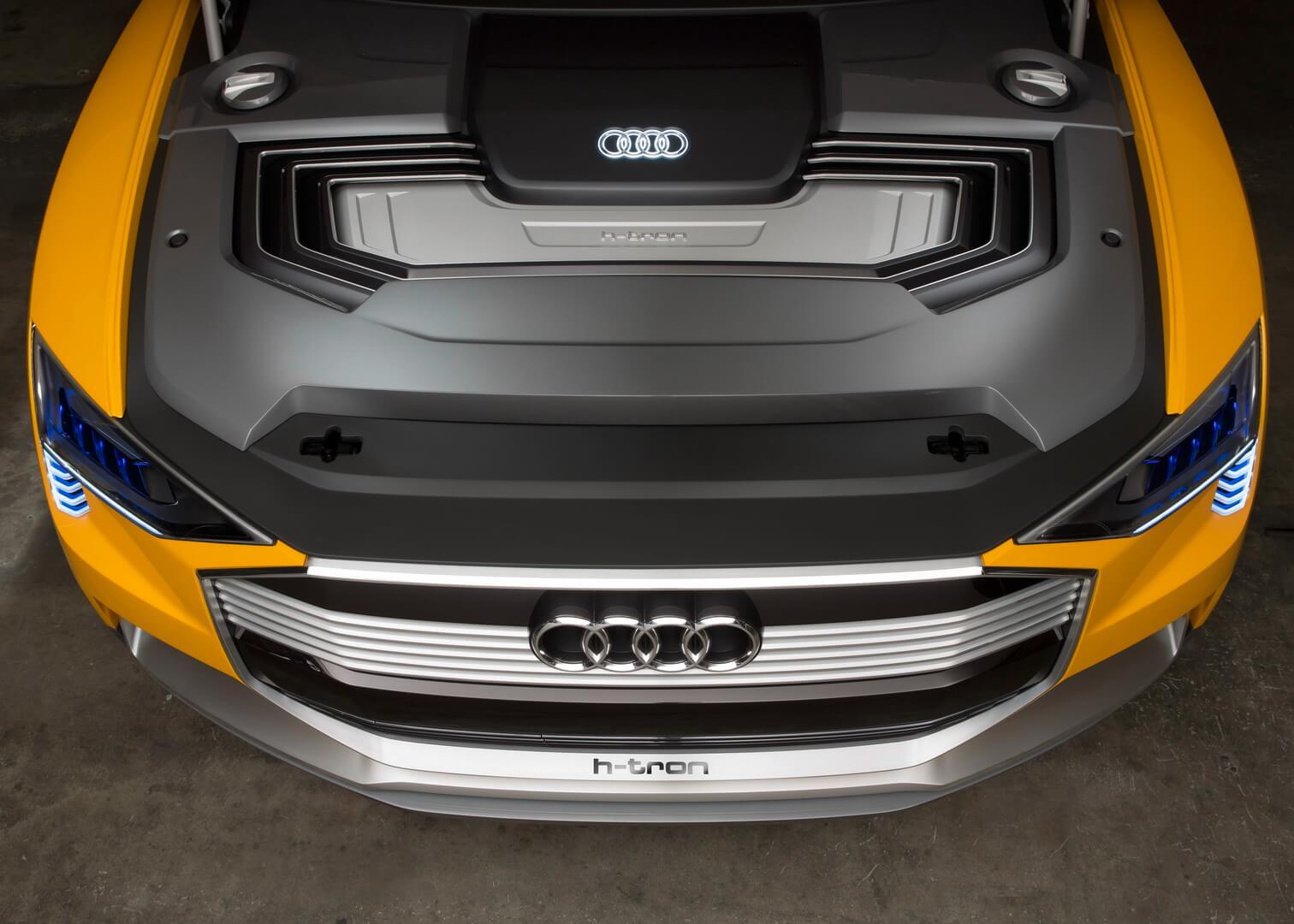 Концепт Audi h-tron quattro FCEV