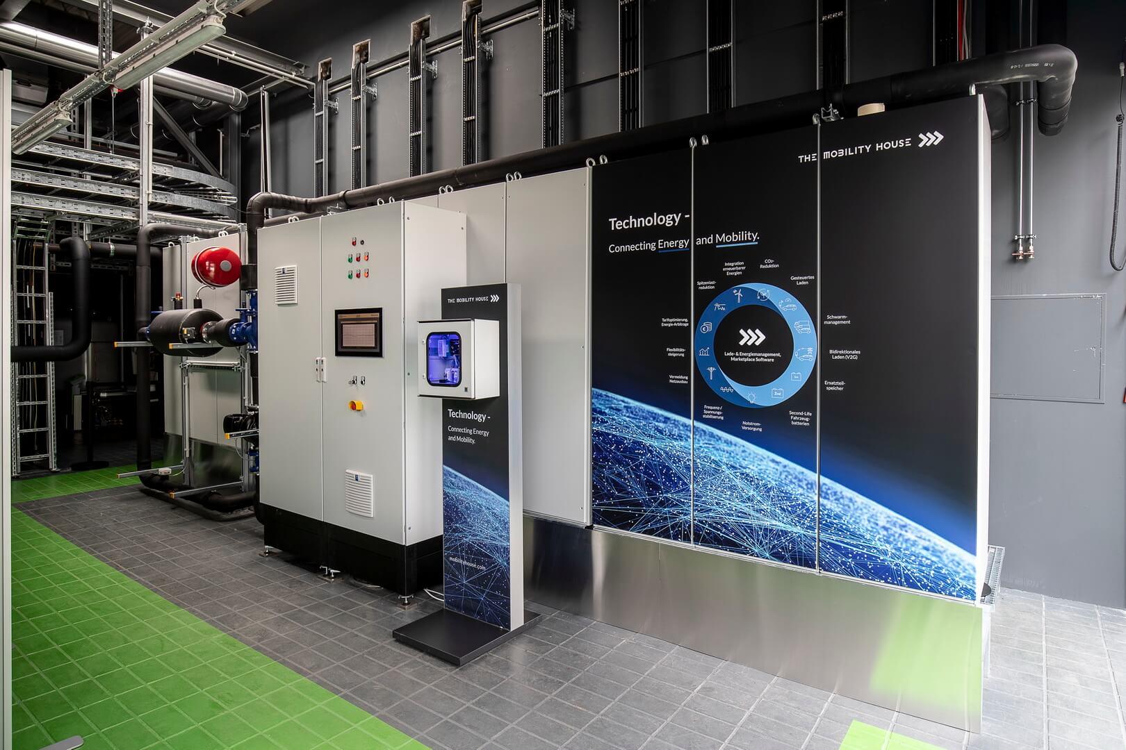 Audi построила хранилище энергии избатарей e-tron на1,9МВт⋅ч