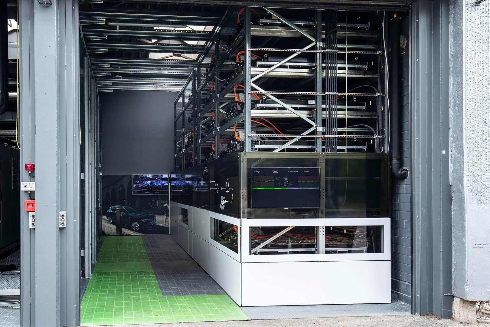 Audi открыла хранилище энергии емкостью 1,9МВт⋅ч