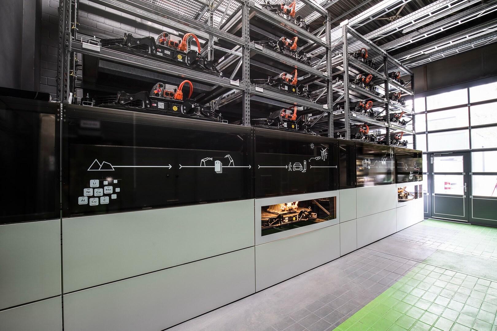 Audi открыла хранилище энергии