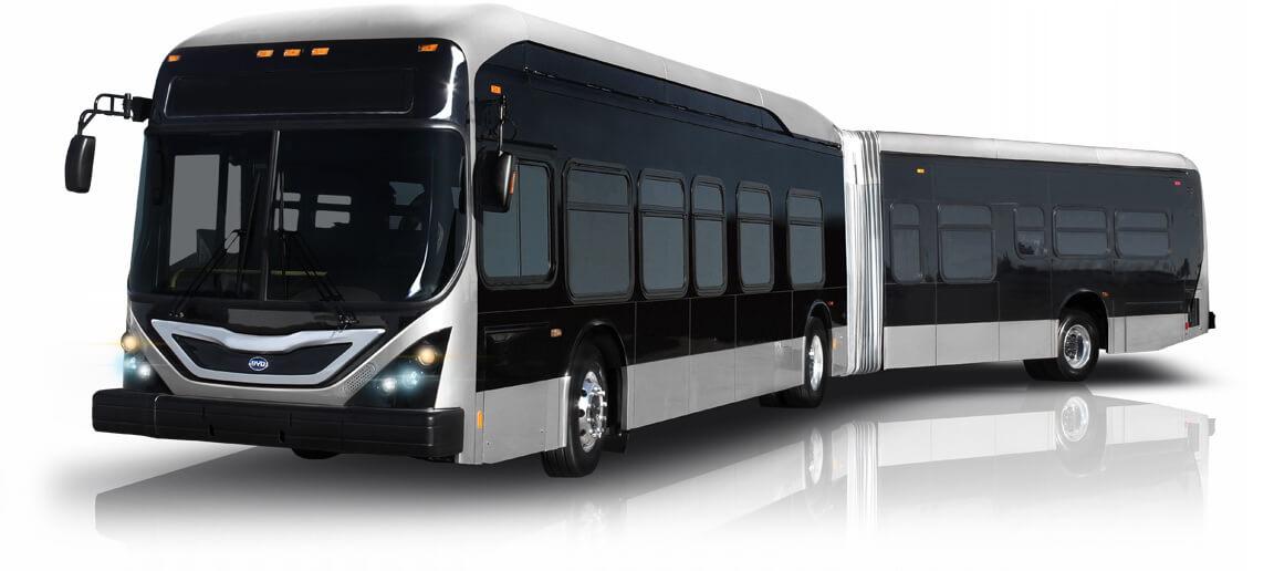 Первый и единственный в мире 18-метровый электрический транзитный автобус BYD K11