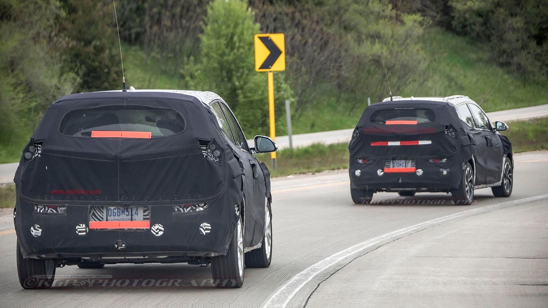 Шпионские фото приоткрыли детали электрического кроссовера Chevrolet на базе Bolt