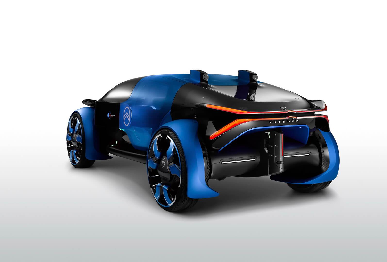 Citroën 19_19 Concept — футуристический электрокар с прицелом на автономность