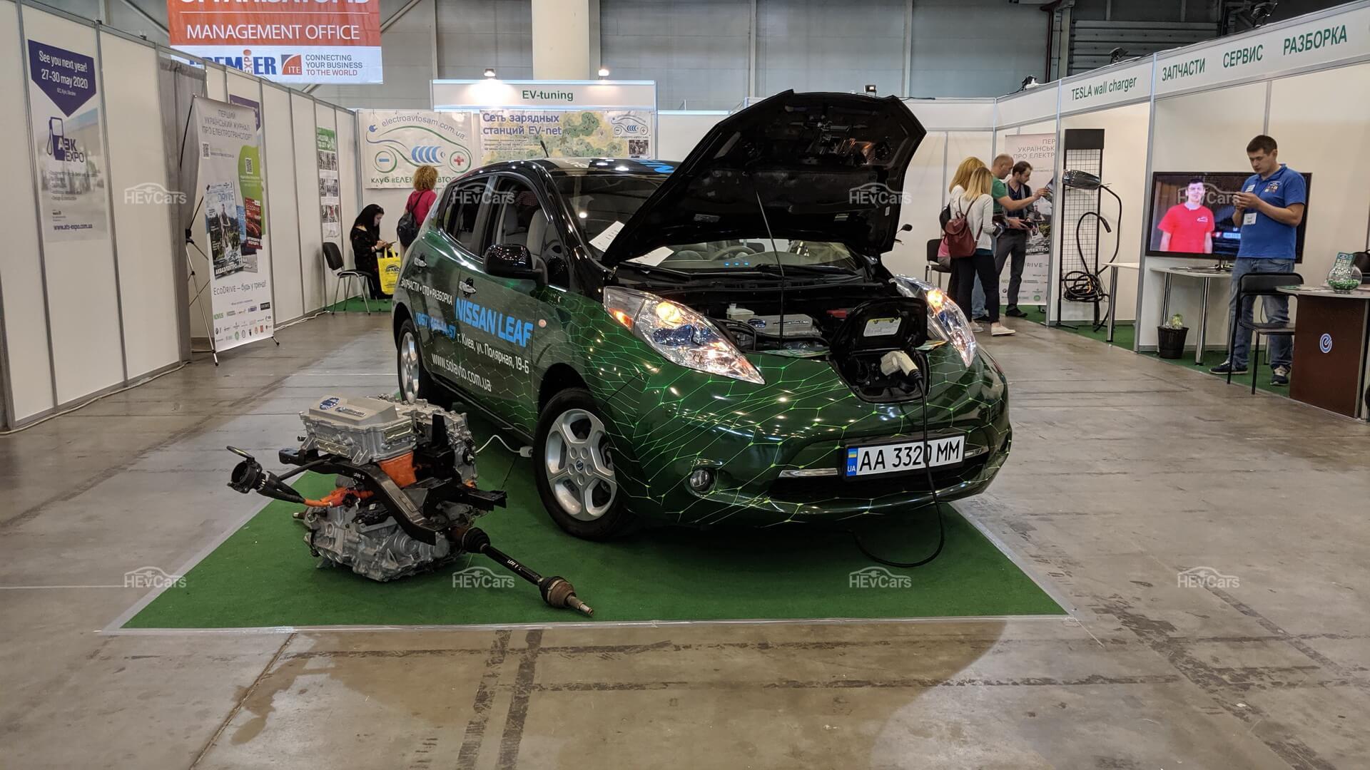 Nissan Leaf и его силовая установка