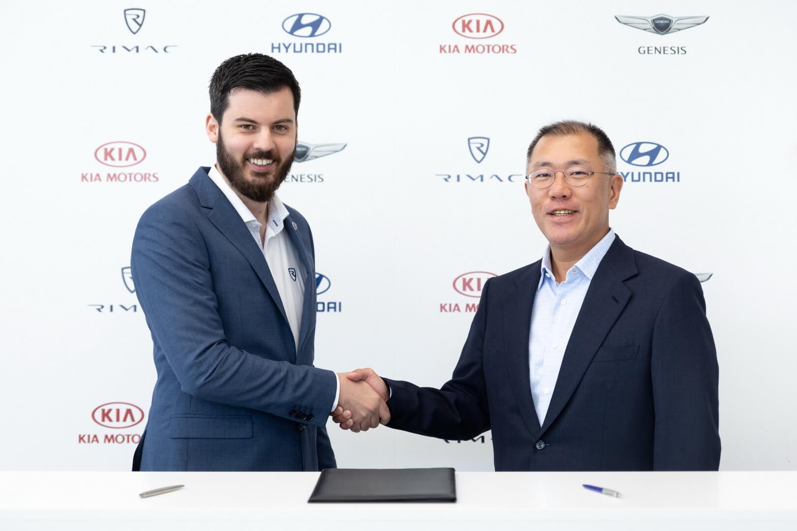 Hyundai и Rimac работают над созданием 2 спортивных электрокаров Hyundai N