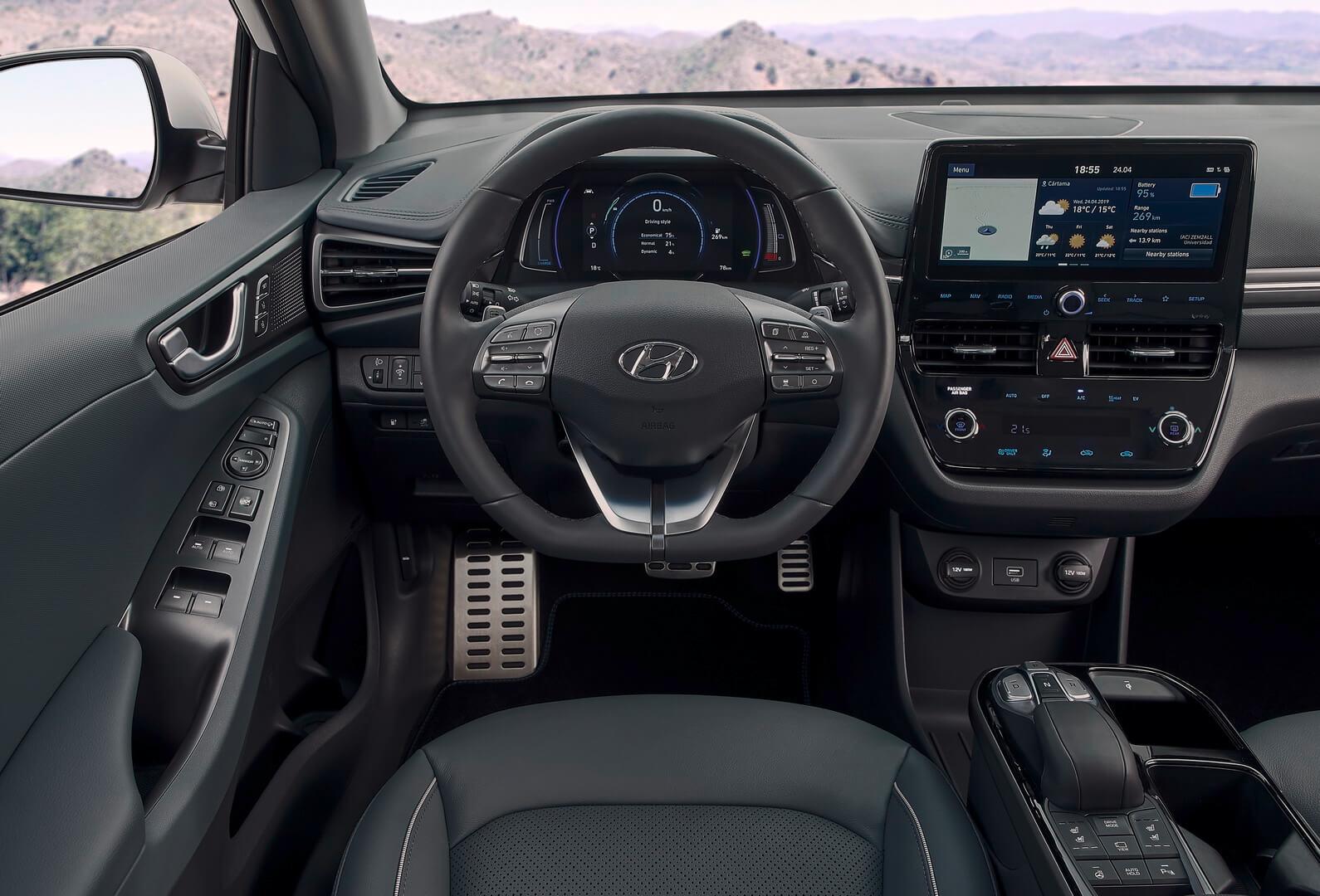 Фотография экоавто Hyundai IONIQ Electric 2019 - фото 24