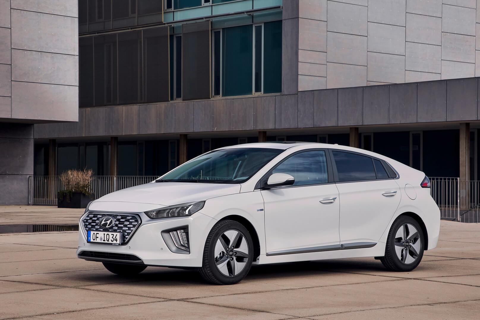 Фотография экоавто Hyundai IONIQ Hybrid 2019