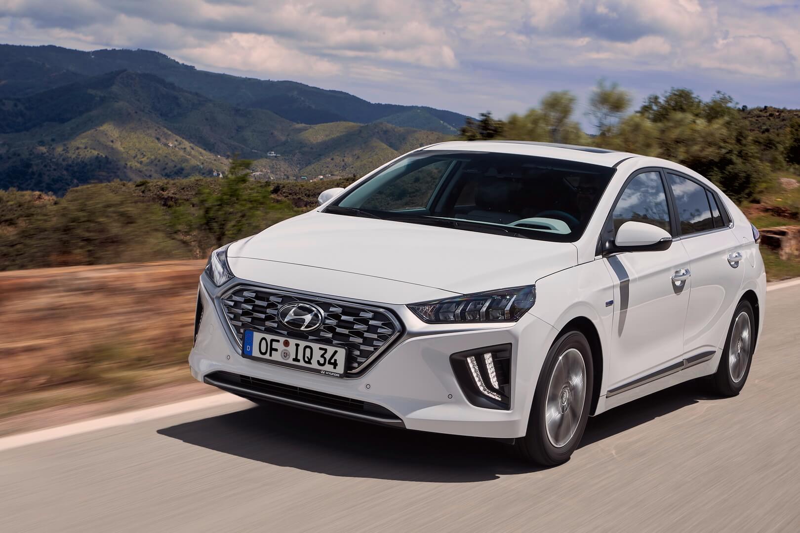 Фотография экоавто Hyundai IONIQ Hybrid 2019 - фото 10