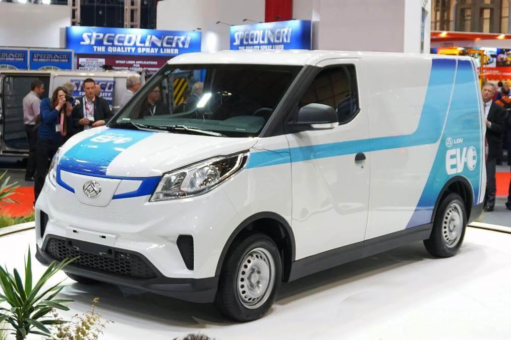 Электрический фургон LDV EV30