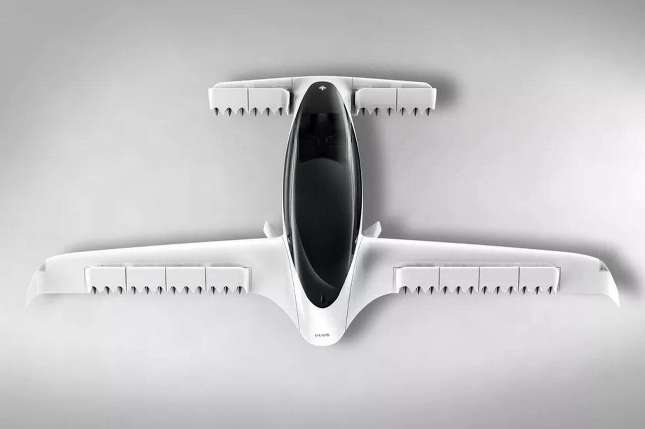 Lilium представил воздушное такси с 36 реактивными электромоторами