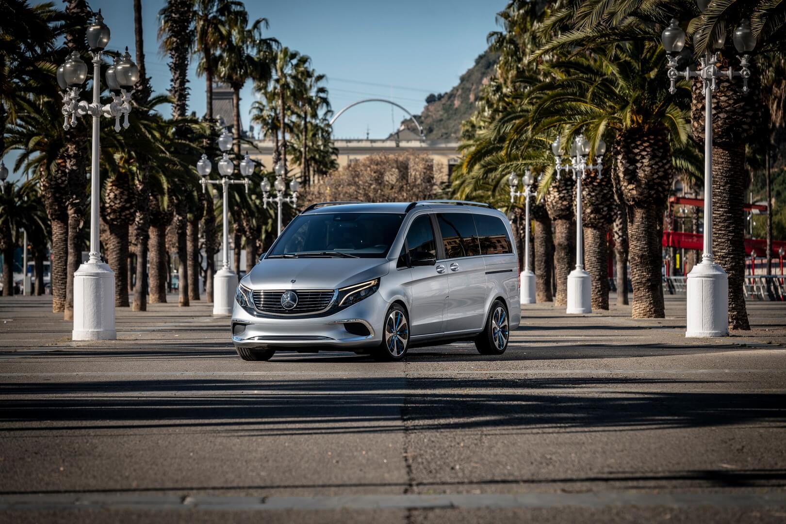 Mercedes-Benz EQV - фото 3