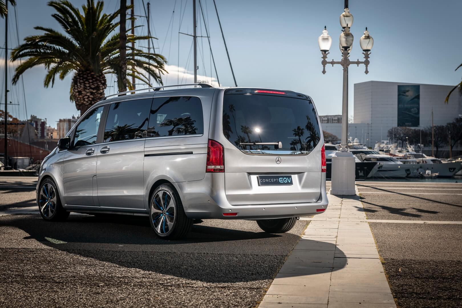 Mercedes-Benz EQV - фото 4