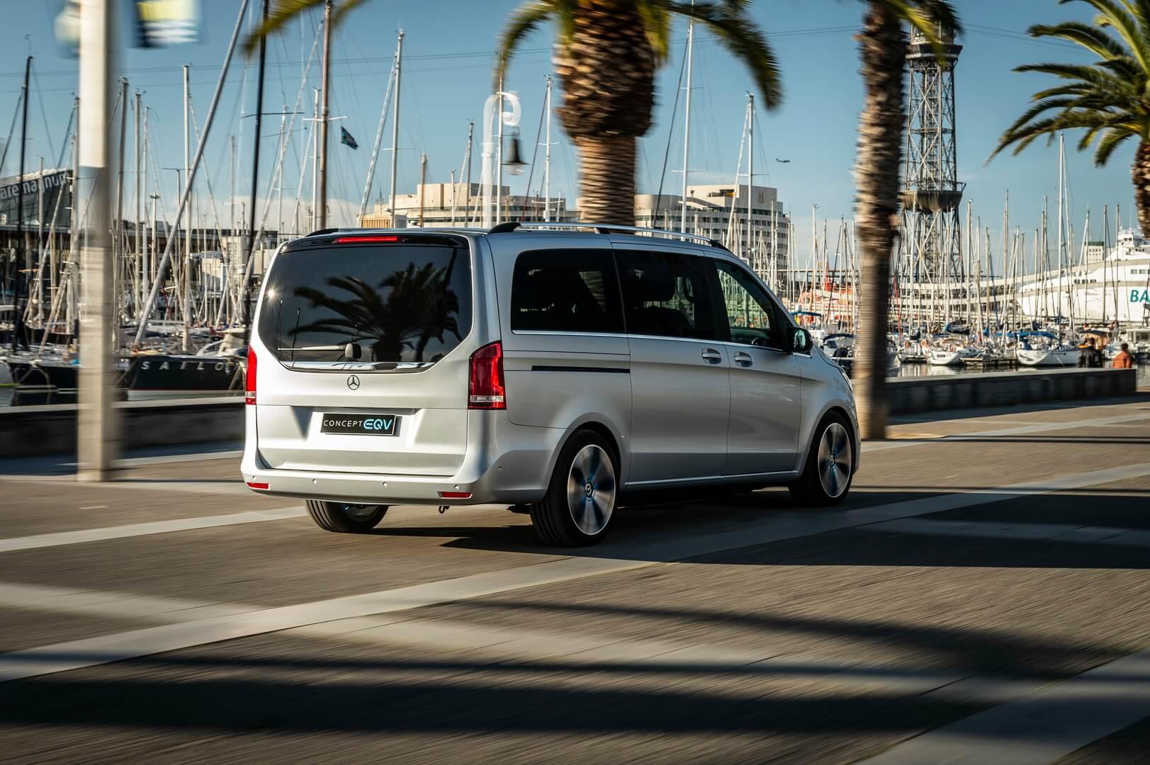 Mercedes-Benz EQV - фото 5