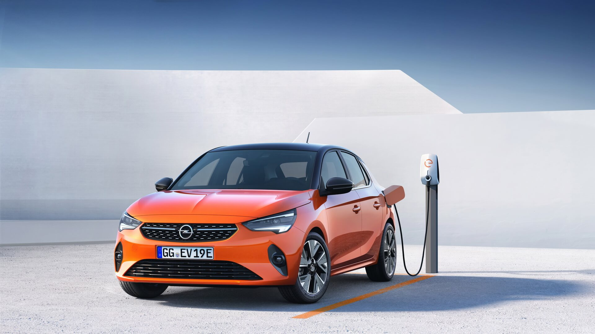 Полностью электрическая модель Opel Corsa-e