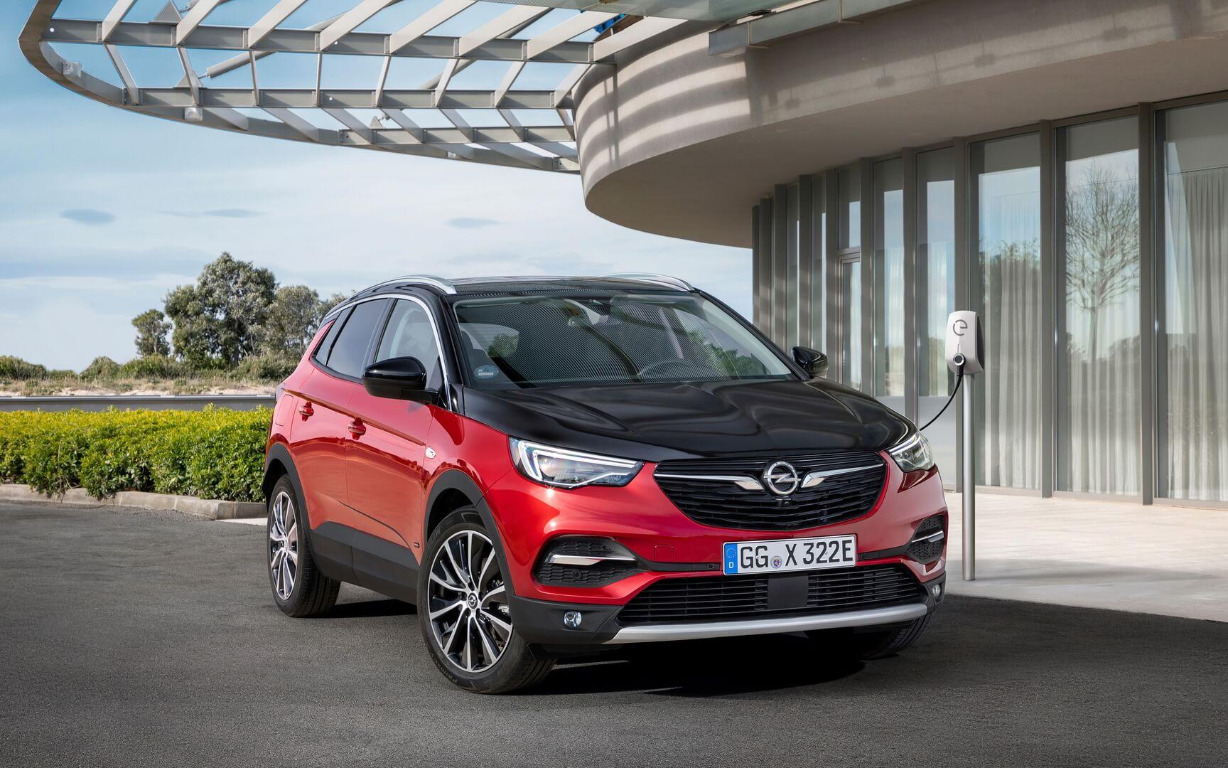 Фотография экоавто Opel Grandland X Hybrid4 - фото 3