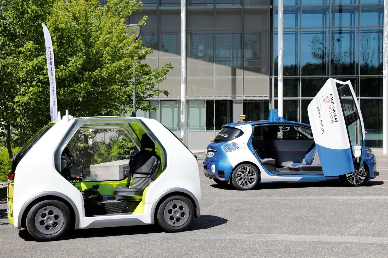 Renault предлагает EZ-POD вкачестве электромобиля для грузовых перевозок