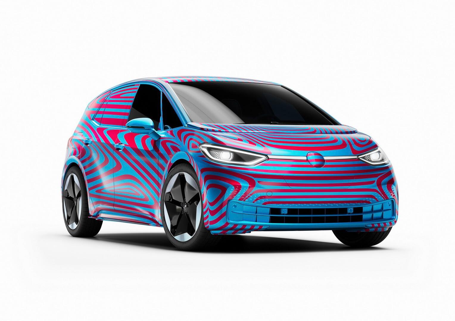 Электрический хэтчбек Volkswagen ID.3