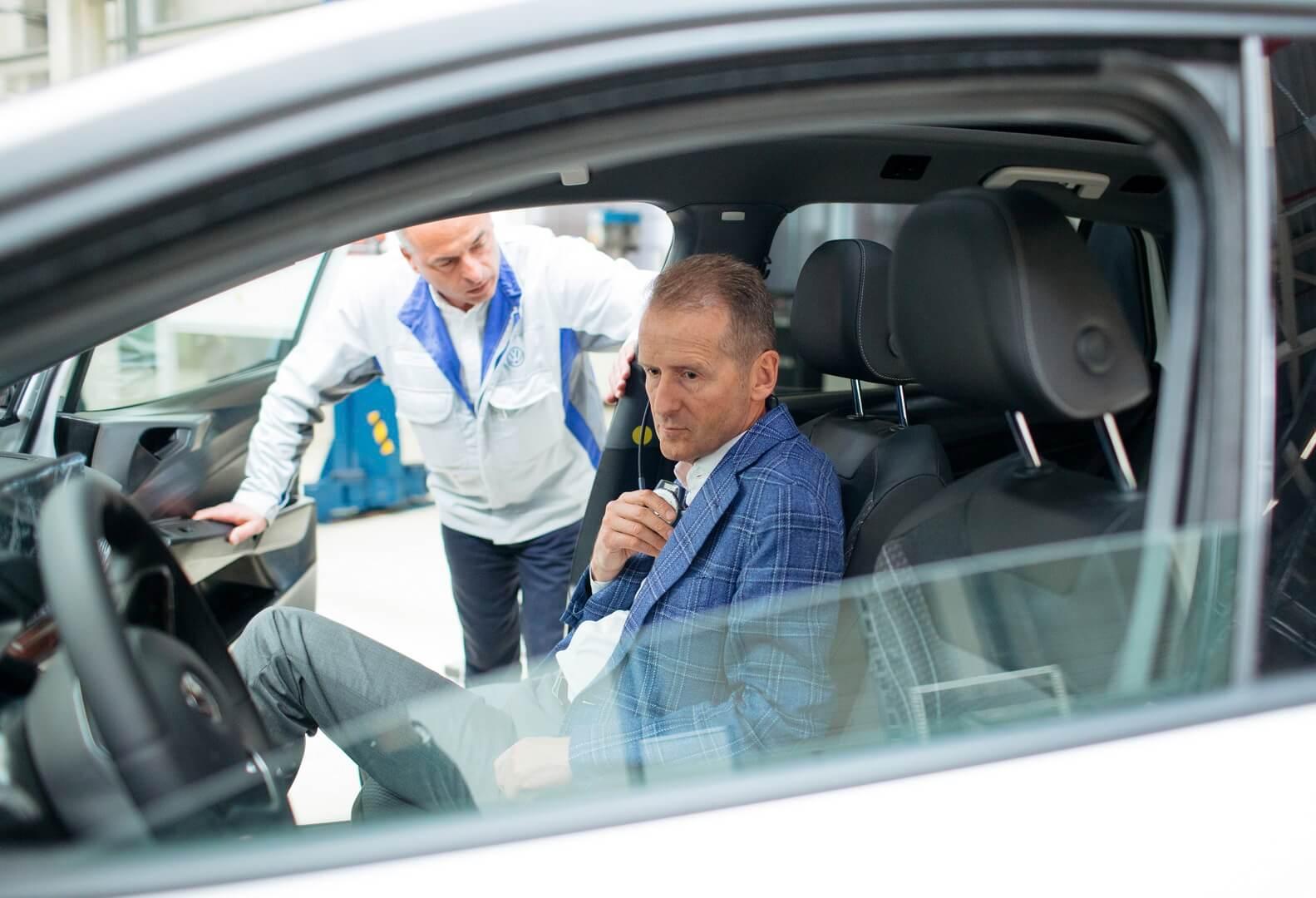 Герберт Дисс в Volkswagen ID.3