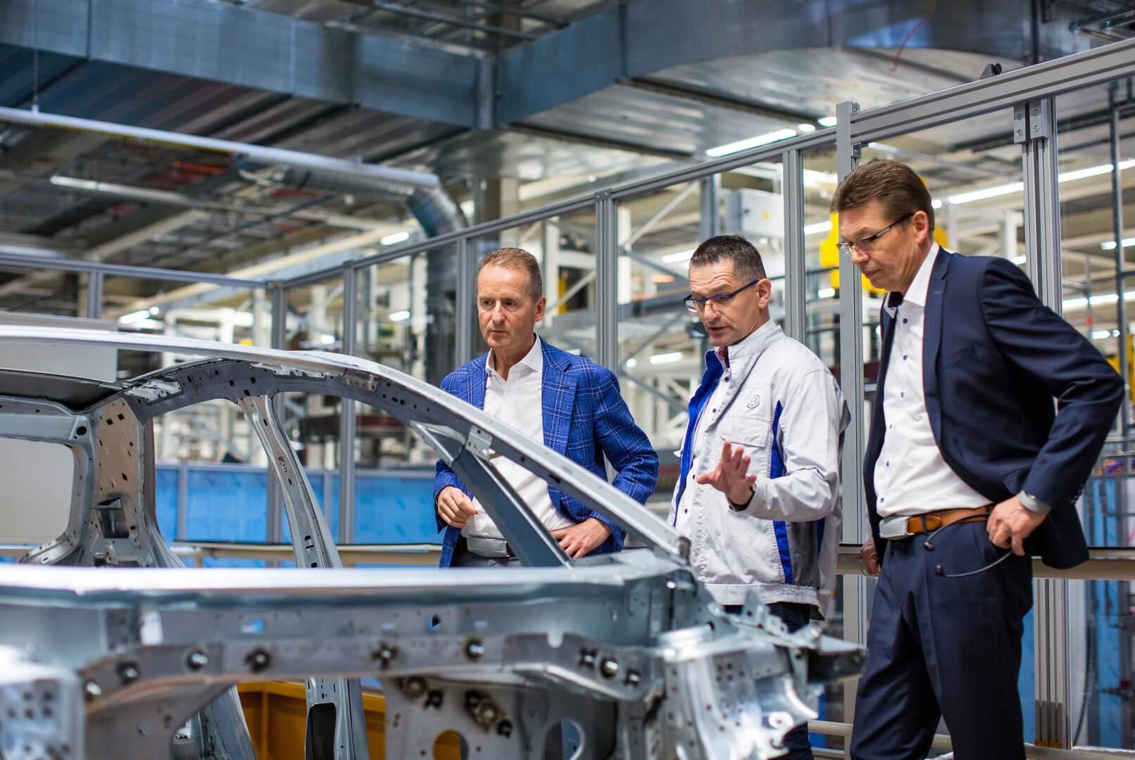 Завод в Цвиккау перенастроен для производства Volkswagen ID.3