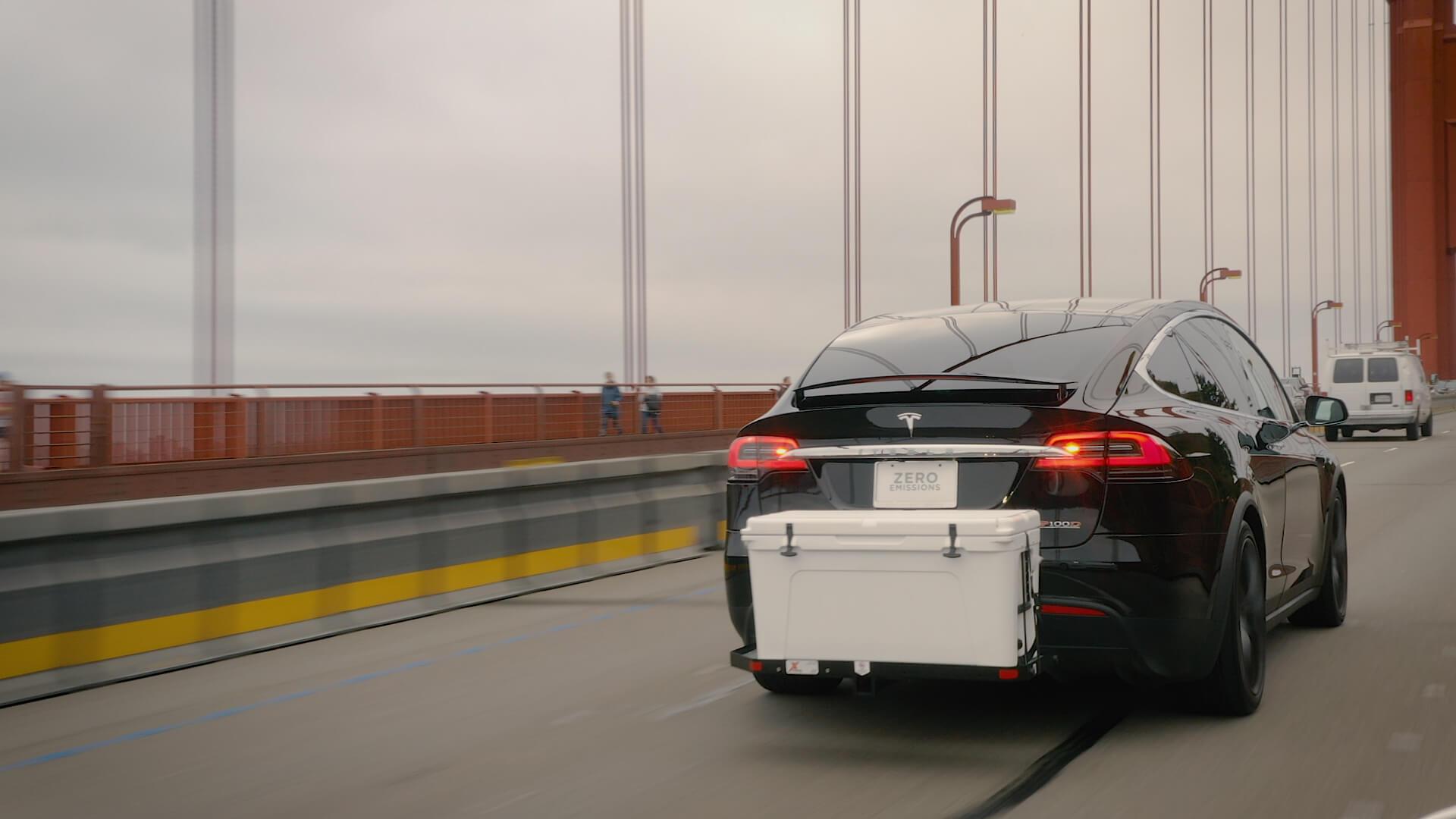 Грузовое устройство X-Rack для Tesla Model X