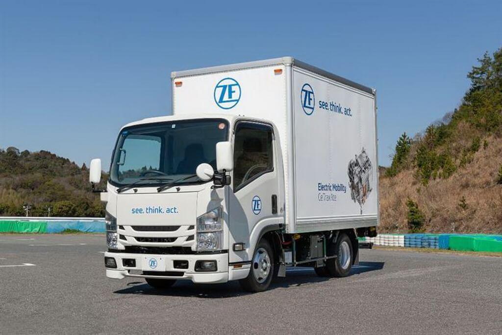 Прототип 5-тонного электрического грузовика