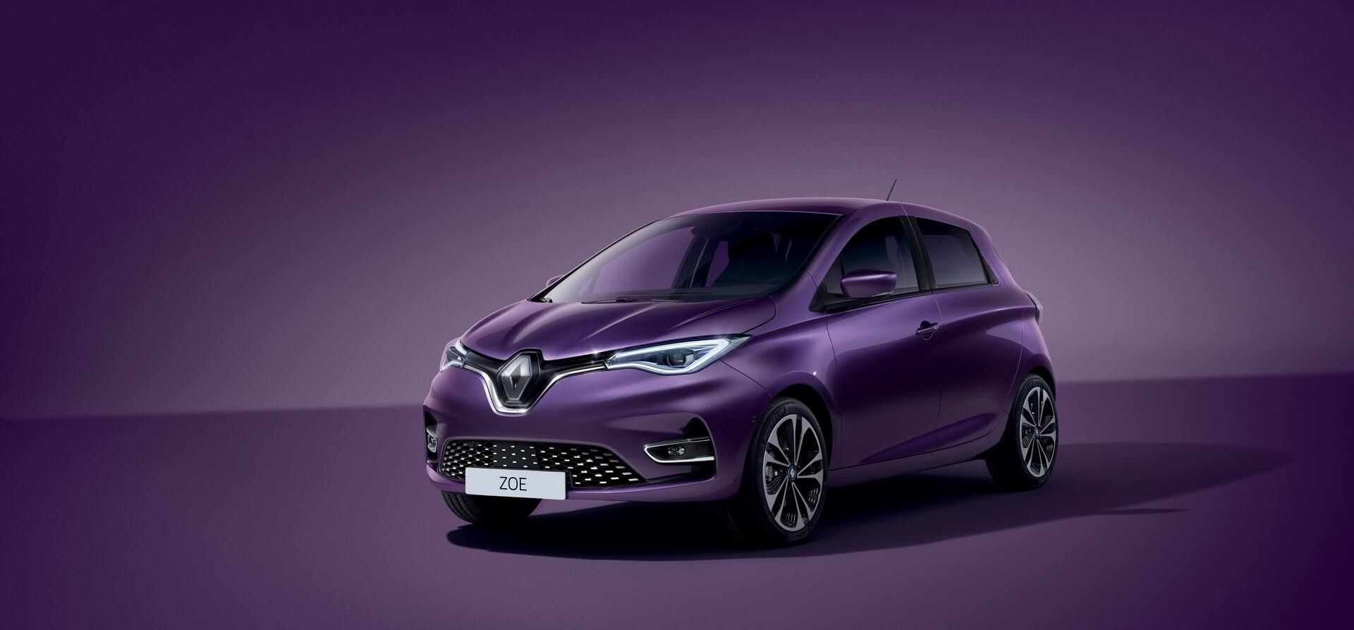 Фотография экоавто Renault ZOE Z.E. 50 - фото 19