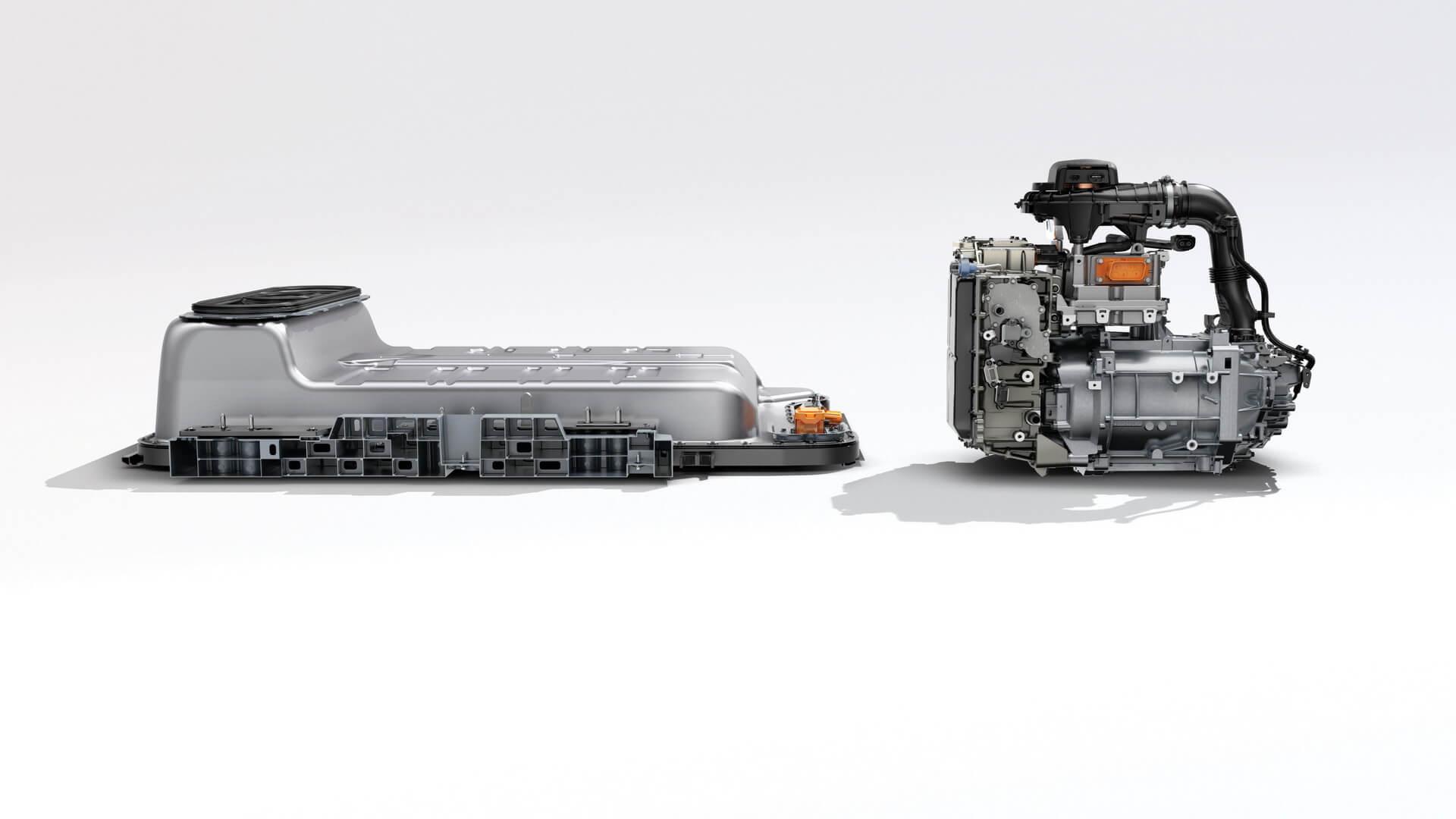 Аккумуляторная батарея и электродвигатель Renault ZOE Z.E. 50
