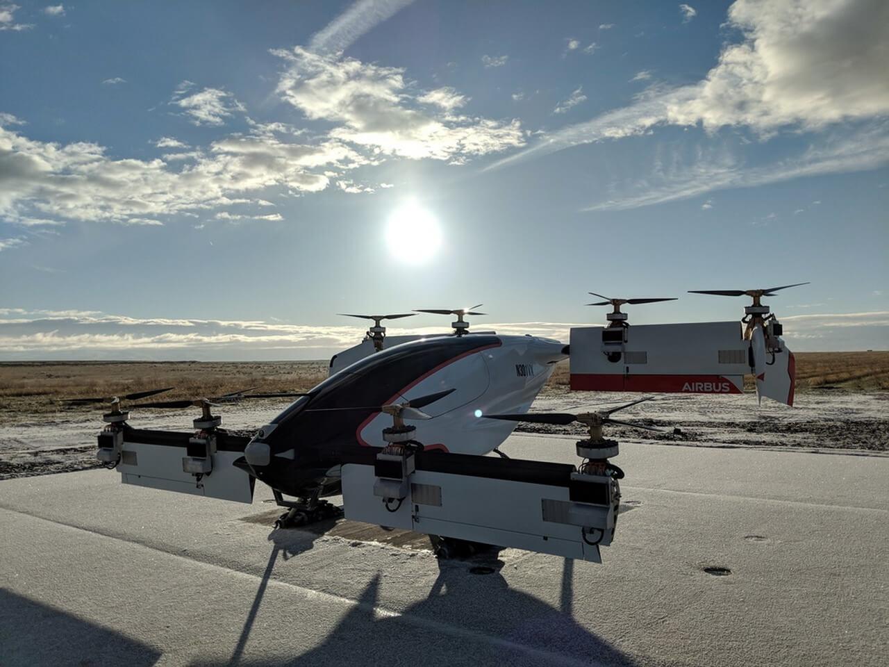 Airbus Vahana — проект электрического беспилотника