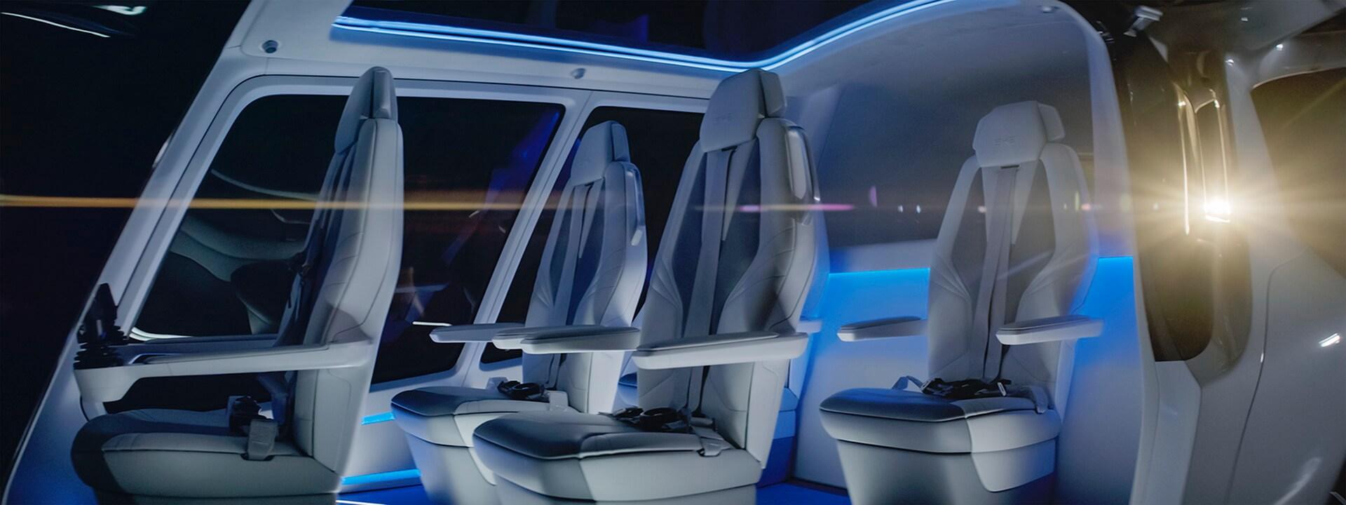 Летательный аппарат Skai рассчитан на5пассажиров