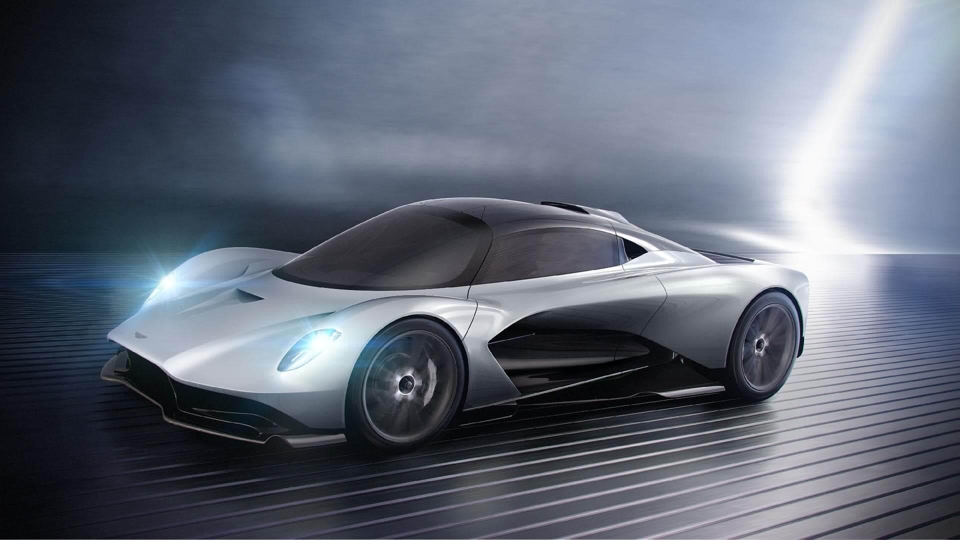 Гибридный суперкар Aston Martin Valhalla
