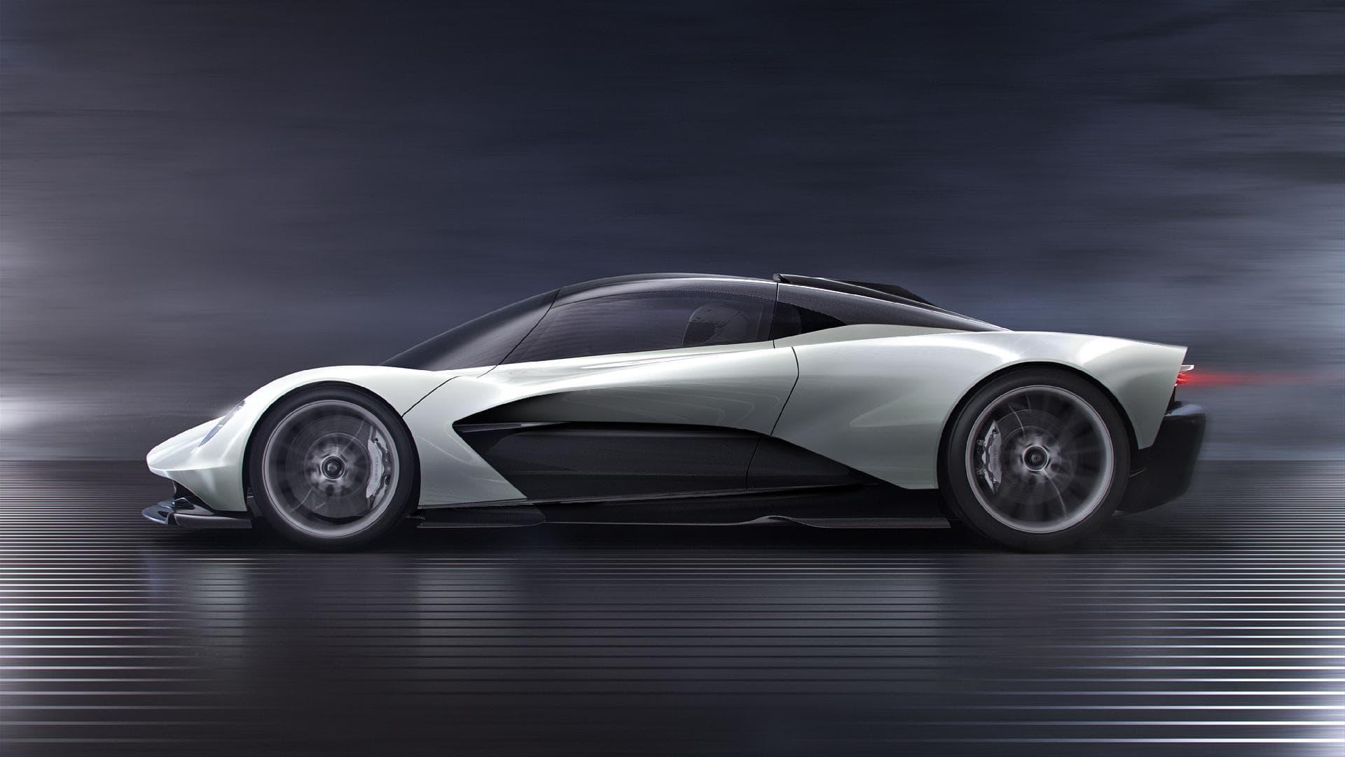 Aston Martin представил гиперкар Valhalla с гибридной трансмиссией