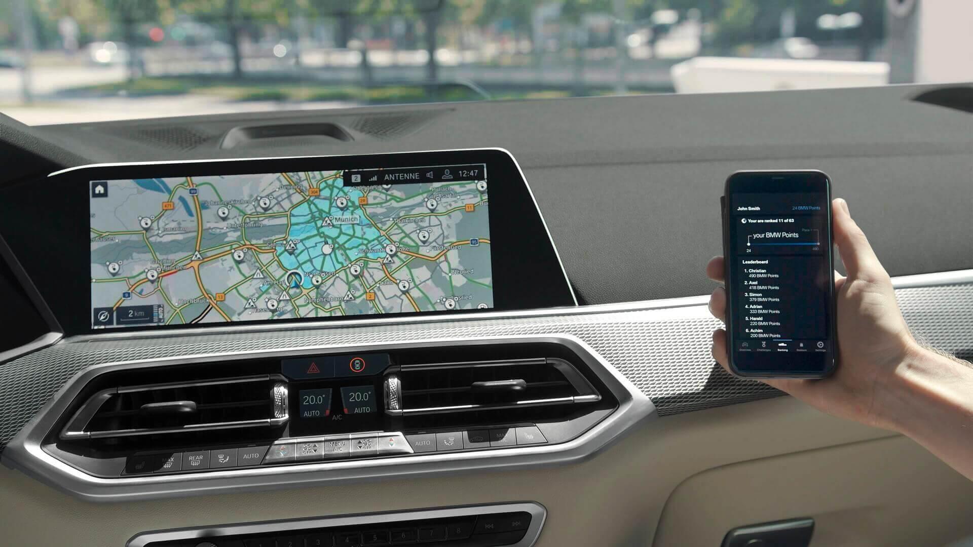 Плагин-гибриды BMW будут автоматически определять зоны без вредных выбросов