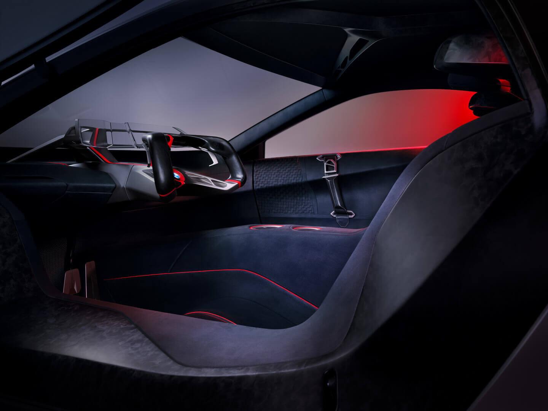 Салон BMW Vision M NEXT
