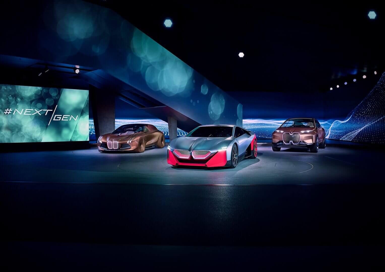 Будущие электрифицированные автомобили BMW
