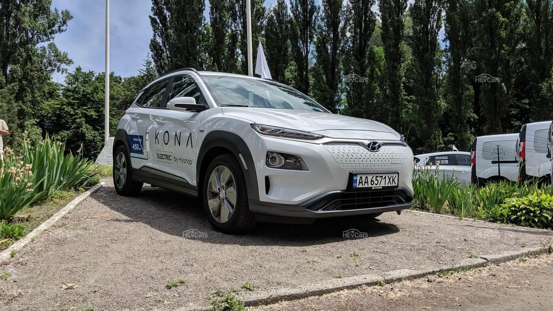 Электрический кроссовер Hyundai Kona Electric