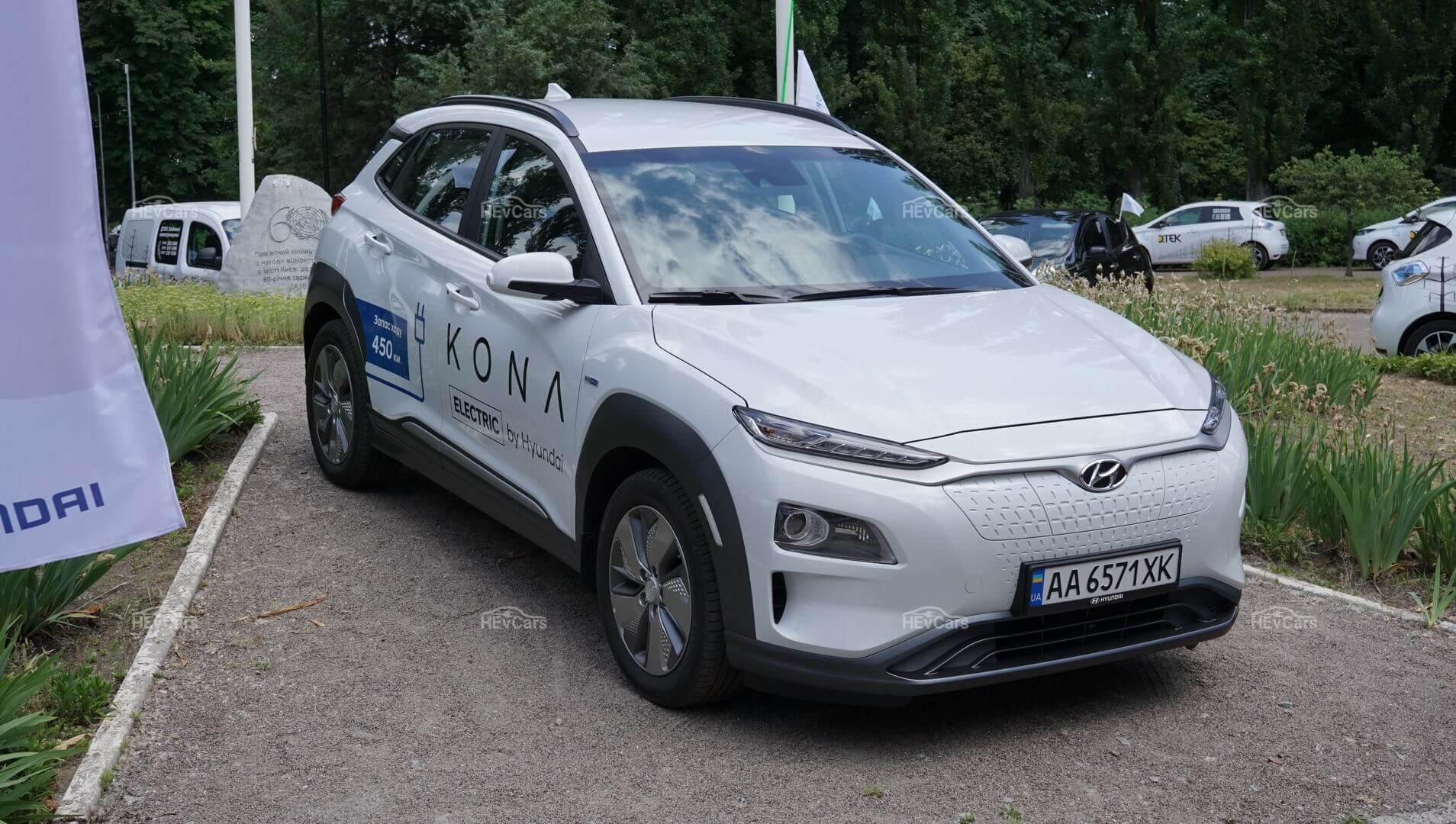 Электромобиль Hyundai Kona Electric «Long-range»