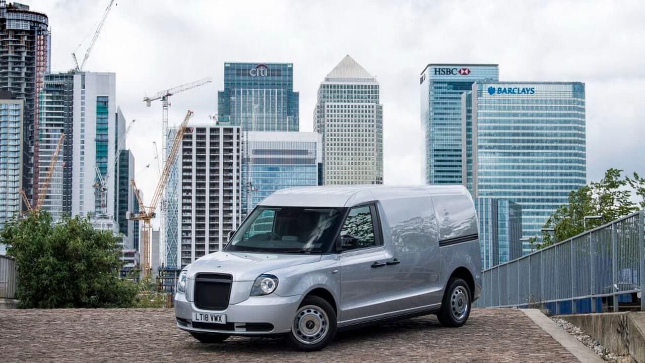 Электрический фургон LEVC с увеличенным запасом хода появится в конце 2020 года